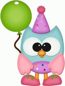 View Design #56074: birthday owl with balloon pnc