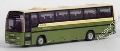 Plaxton Paramount 3500 Diecast Model Bus by EFE 26621 This Plaxton Paramount 3500 Diecast Model Bus is Green and Cream and features working wheels. It is made by EFE and is 1:76 scale (approx. 15cm / 5.9in long). #EFE #ModelBus #Plaxton