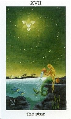SUN AND MOON TAROT --------- **XVII - The Star**