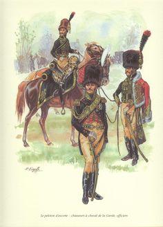 Les cavaliers de la Grande Armée :: Planche Etat major de l'empereur