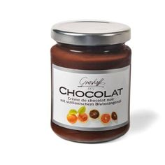 Black Chocolate and Orange Sanguine Cream 250g. Grashoff