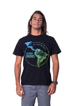High quality Peruvian Cotton. Unique designs from Latinmov. Comfortable t-shirt.