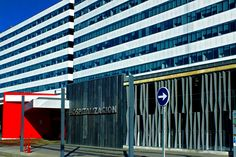 El HUCA (Hospital Universitario Central de Asturias). Oviedo. Concejo de Oviedo. Principado de Asturias. Spain. [By Valentín Enrique].