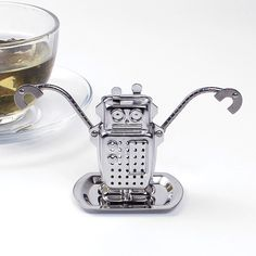 Manufacturer Direct Tea Infusers Stainless Steel  Cute Tea Robot Infuser Recyclable Tea Strainers Tea Tool-in Tea Strainers from Home & Garden on Aliexpress.com | Alibaba Group