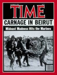 241 marines killed in Beirut - how soon we forget.