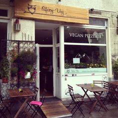 Das Sfizy Veg ist die erste vegane Pizzeria in Europa und befindet sich in Berlin Neukölln.
