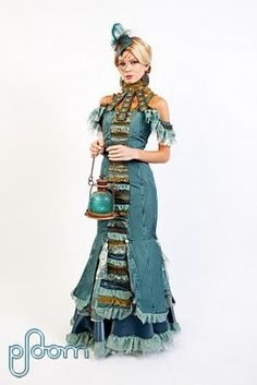 Steampunk Circus Inspired Couture