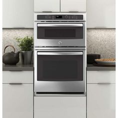 Electric Wall Oven With Built In Microwave Stainless Steel
