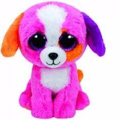 b40d128abe5 Ty Beanie Boos Medium - PRECIOUS Dog Boo Soft Toy New NWMT Beanie Boo Dogs