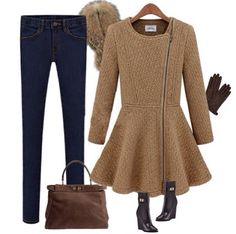 Cute #boots and nice #coat