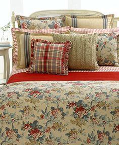 Lauren Ralph Lauren Bedding, Lake House Collection - Bedding Collections - Bed & Bath - Macy's
