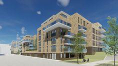Betaalbare appartementen en eengezinswoningen. Je vindt ze in nieuwbouwproject Banneplein in Amsterdam-Noord. Behalve koopwoningen komen er ook huurwoningen. De start verkoop is in mei.