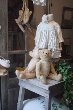 with old teddys