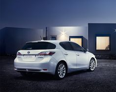 The Lexus CT200h: First Class Economy.