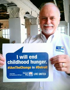 Be the change|United Way for Southeastern Michigan | Live United