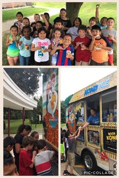 Thank You to Claremont PTA for a special treat from The Kona Ice Truck! @Claremont_News @OssiningSchools @OssiningSup