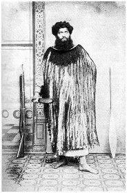 A tohunga and orator: Hetaraka Tautahi, of NgaRauru tribe, Waitotara (West Coast of North Island). He was a Hauhau and an adherent of the leading Taranaki war-chief Titokowaru.
