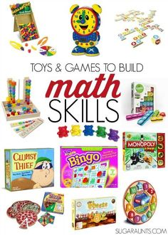 Toys and Games that Build math Skills