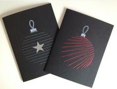 Chrismas Cards, Christmas Card Crafts, Homemade Christmas Cards, Christmas Drawing, Christmas Mood, Xmas Cards, Diy Cards, Homemade Cards, Handmade Christmas