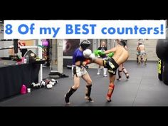 8 of my BEST Counters to drill before a fight! - YouTube