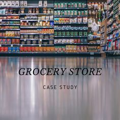 This #grocery case study shows that how the #shopper flow effected by #store design and floor plan?