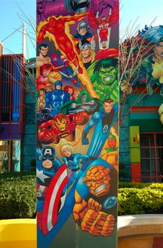 Marvel at Islands of Adventure