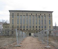 Berghain; The party never dies over here...