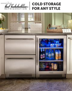 TRUE Residential Refrigeration brings the performance and quality of commercial refrigeration to your kitchens and outdoor entertaining spaces.