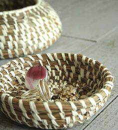 Tutorial: pine needle basket #home_decor #recycle #reuse #repurpose #diy #crafts