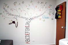 The perfect mural for my perfect baby :) <3