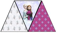 Free Frozen Banner Printable A to Z for Moms Like Me: Frozen Birthday Party with FREE Printables