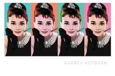 pop art audrey