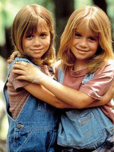 Mary-Kate & Ashley Olsen dans les années 90