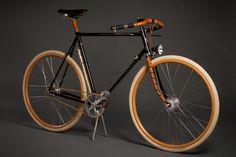 The Ascari Copper 3 Speed — Ascari Bicycles Velo Retro, Velo Vintage, Retro Bicycle, Vintage Bicycles, Fixed Gear Bikes, Bici Fixed, Push Bikes, Speed Bike, Old Bikes