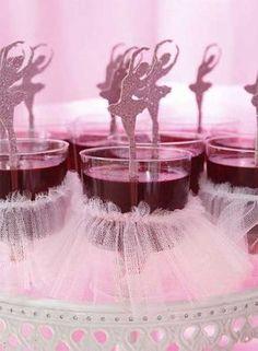 Dicas de Decoração de Festa Bailarina Simples e Provençal
