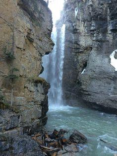 Johnston Canyon, Waterfall, Outdoor, Outdoors, Waterfalls, Outdoor Games, Rain