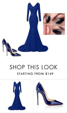 """""""Unconditionally"""" by rafah-0lliver ❤ liked on Polyvore featuring beauty and Christian Louboutin"""