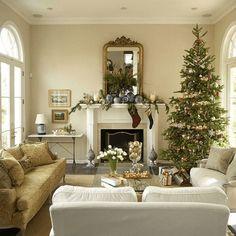 Tolle Ideen Wohnzimmer Dekorieren Weihnachten