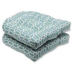 Pillow Perfect Outdoor Rhodes Quartz Wicker Seat Cushion (Set of - Overstock™ Shopping - Big Discounts on Pillow Perfect Outdoor Cushions & Pillows