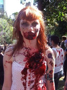 1000+ images about Zombie on Pinterest   Zombie Costumes, Zombies ...