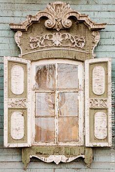 Russian window, nalichnik.