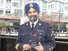 Baltej Singh Dhillon made history as the first turbaned Sikh officer in the Royal Canadian Mounted Police (RCMP).   He was honored at the annual Raise Your Hands Against Racism event in Vancouver, Canada on Saturday.03/19/2016.