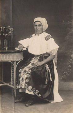 žena z Bošáce, začátek 20. stol.