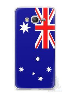 Capa Samsung Gran Prime Bandeira da Austrália - SmartCases - Acessórios para celulares e tablets :)