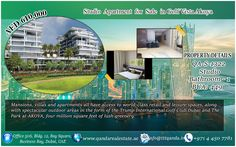 Q and A Real Estate Brokerage proudly offers an apartment with spectacular amenities and facilities. This property is located in Akoya Golf Vista.  Property Features: •Studio •1 bathroom •Balcony •Golf View •Public Car Parking •Super market  •Shopping Mall •Swimming pool •Gym