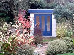 Enjoy our gallery of quality Garden Offices & Studios including log cabins, art studios, teenage dens, lots of inspiring ideas Small Garden Office, Summer Houses, Garden Studio, Art Studios, Garden Inspiration, Offices, Contemporary, Space, Gallery