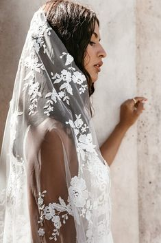 Untamed Heart | The Brand New Wedding Dress Collection from Lovers Society Veil, Kimono Top, Lovers, Clouds, Blooming Rose, New Wedding Dresses, The Crown, Bridal, Ethereal