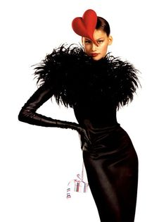 Laetitia Casta for Les Galeries Lafayette by Jean Paul Goude