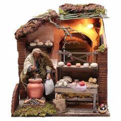 Reggio Emilia, Medieval Market, Wire Tree Sculpture, Terracota, Ceramic Houses, Unique Furniture, Artisanal, Xmas, Christmas