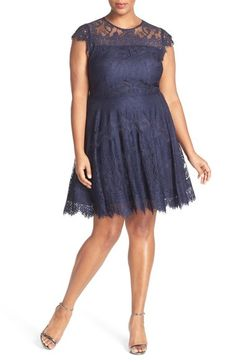 5cebbf534fc Women s Chaps Ruched Mixed-Media Dress